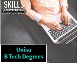 unisa b tech degrees
