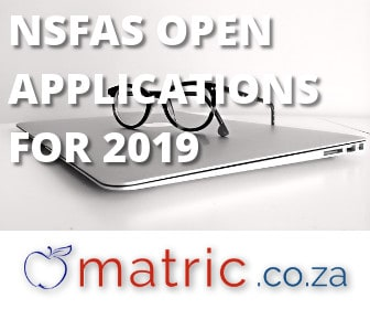 NSFAS open applications for 2019