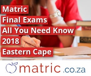 Eastern Cape Matric Final Exams 2018