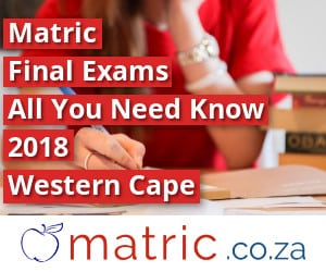 Western Cape Matric Final Exams 2018