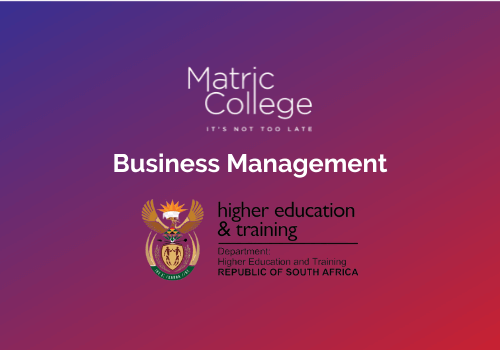 Business Management Courses NATED