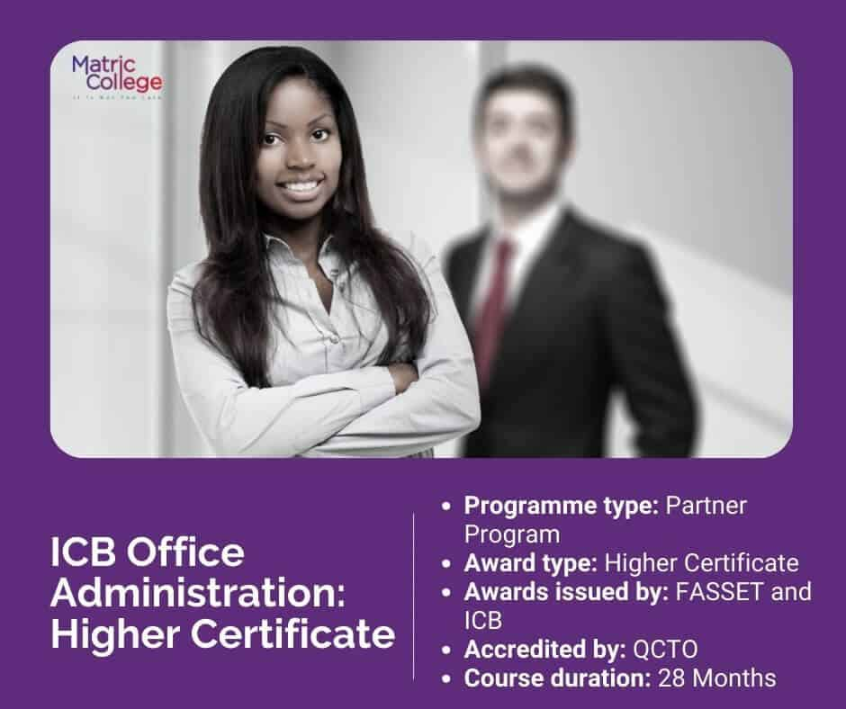 ICB Office Administration Higher Certificate