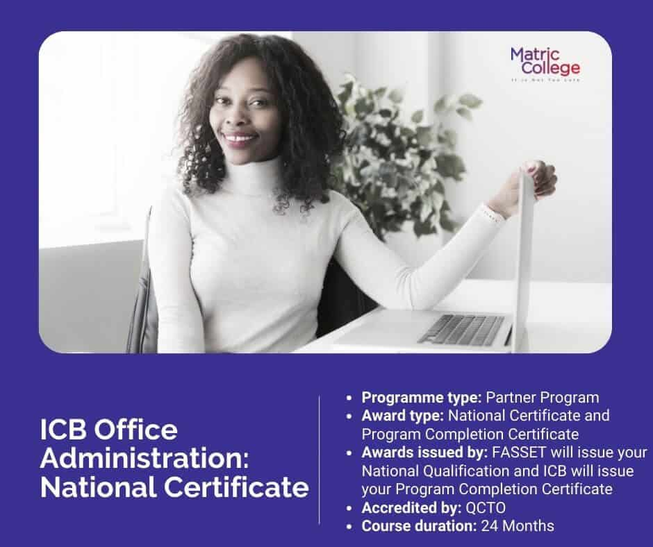 ICB Office Administration National Certificate