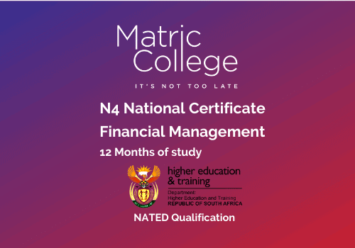 N4 Financial Management National Certificate NATED