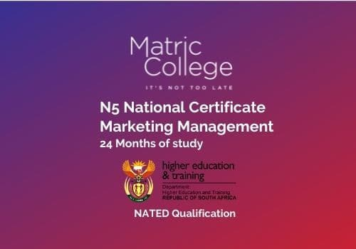 N5 Marketing Management National Certificate NATED