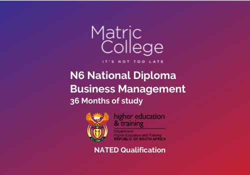 N6 Business Management National Diploma NATED