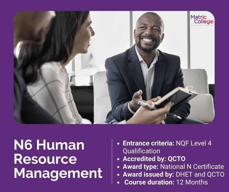 N6 Human Resource Management