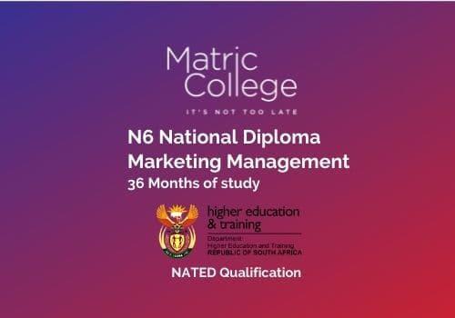 N6 Marketing Management National Diploma NATED 2