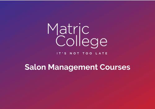 Salon Management Courses