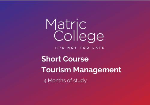 Tourism Management Short Course