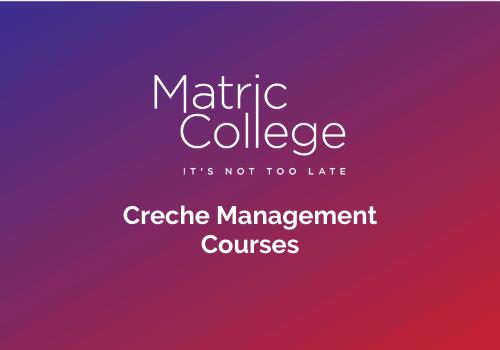 Creche Management Courses