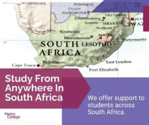 Study From Anywhere In South Africa