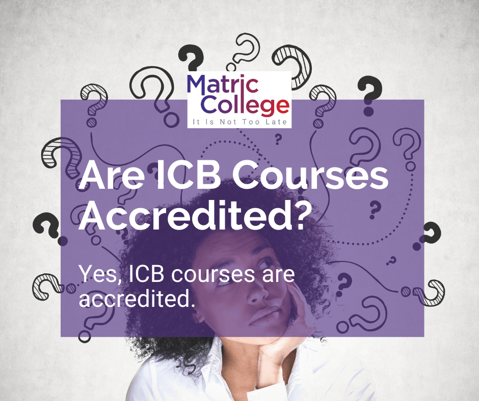 Are ICB Courses Accredited