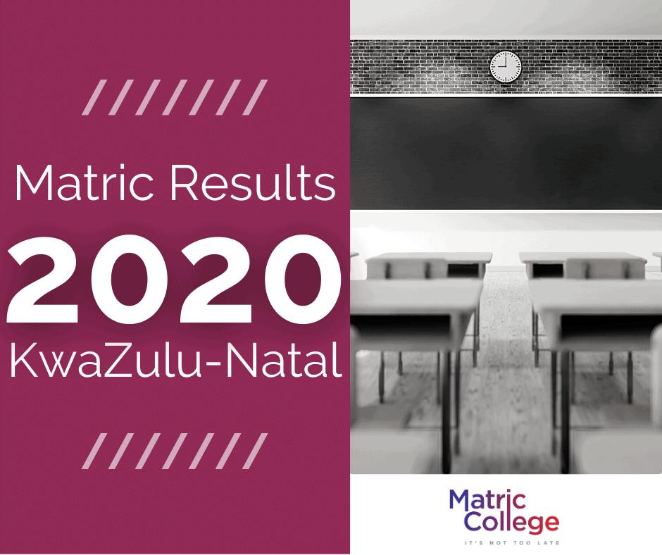 Matric Results 2020 Kwazulu-natal