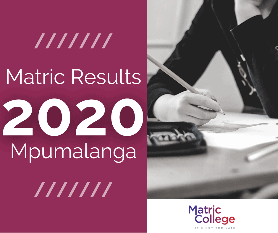 Matric Results 2020 Mpumalanga