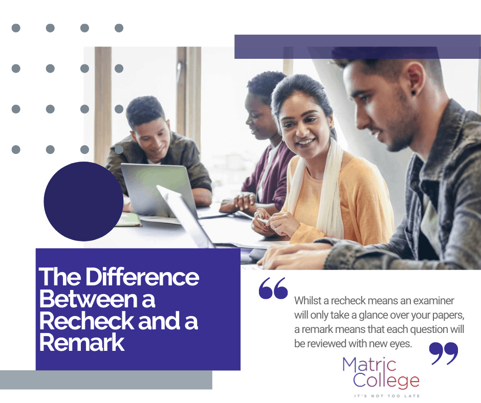 The Difference Between a Recheck and a Remark