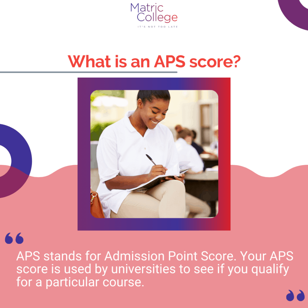 What is an APS score?