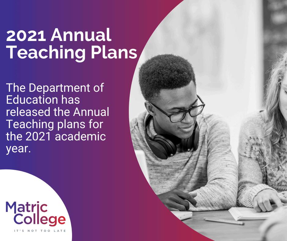 2021 Annual Teaching Plans