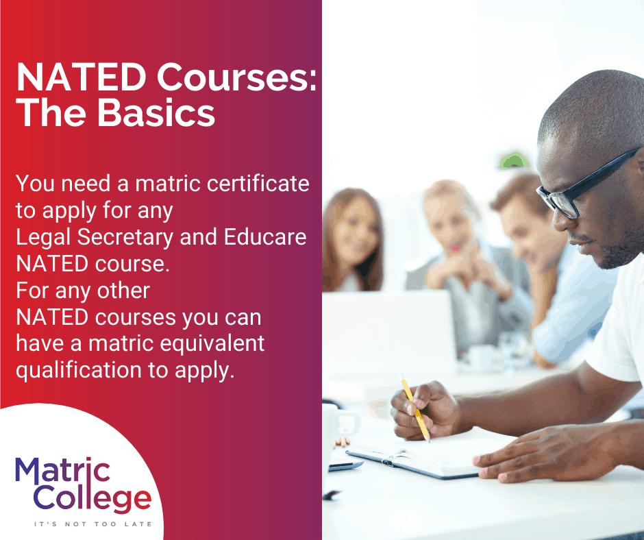 NATED Courses: The Basics