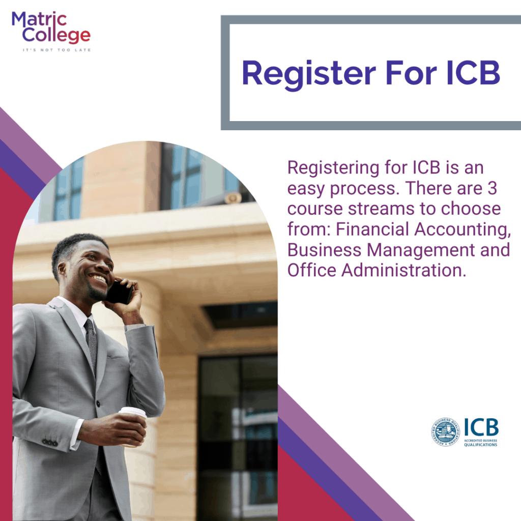 Register For ICB