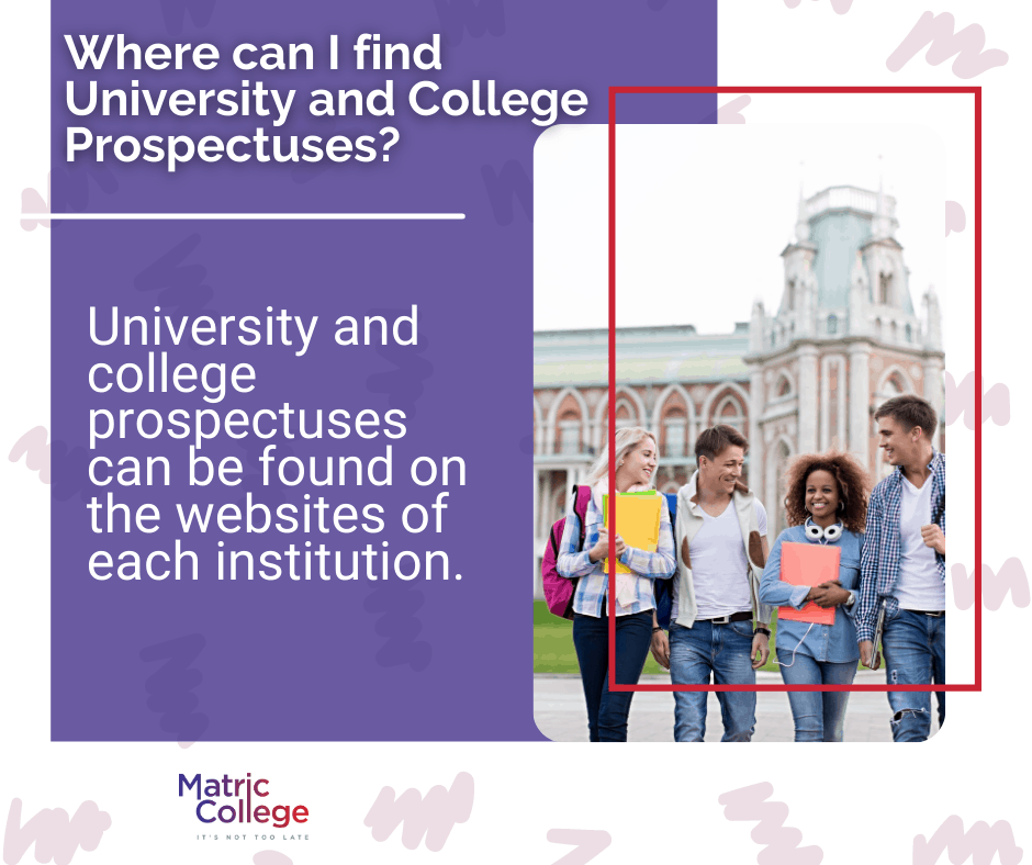 Where can I find University and College Prospectuses?