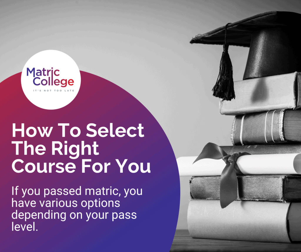 How To Select The Right Course For You