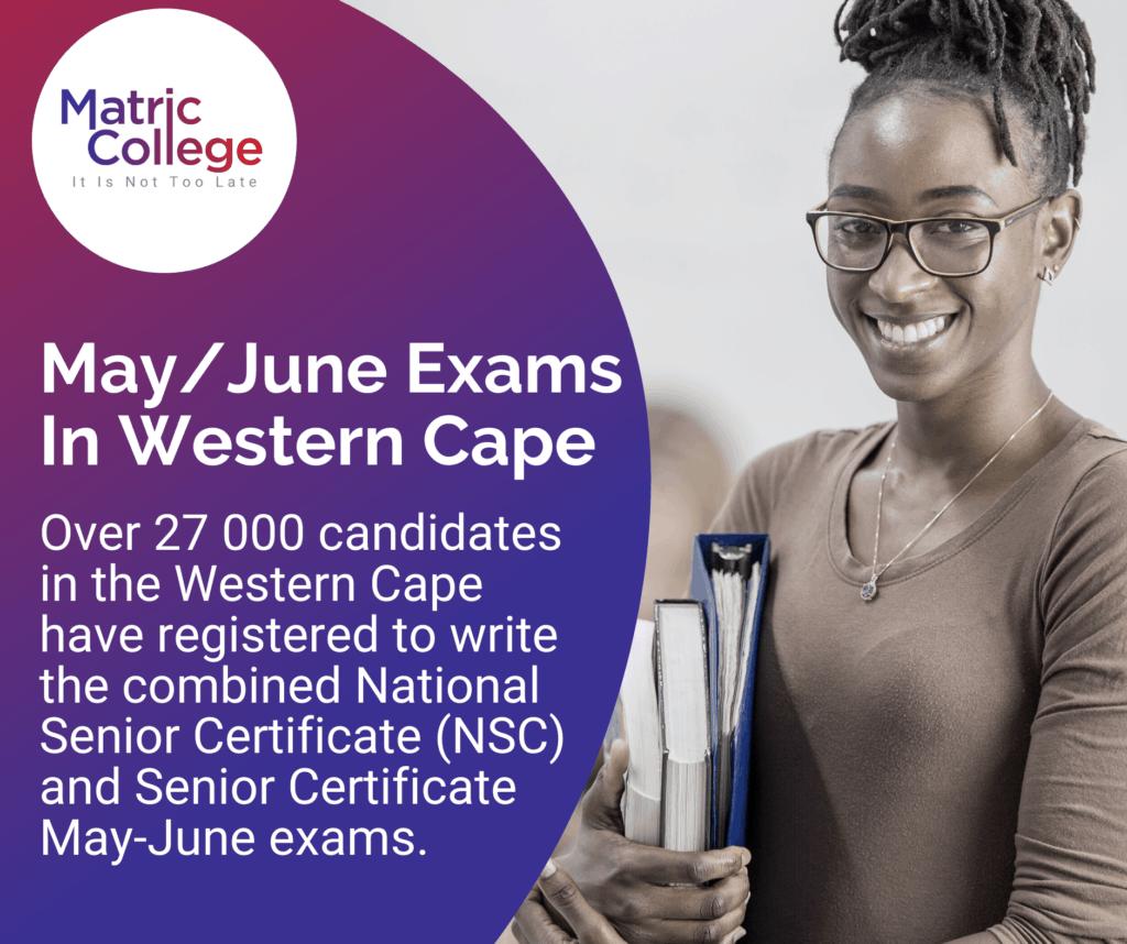 MayJune Exams In Western Cape
