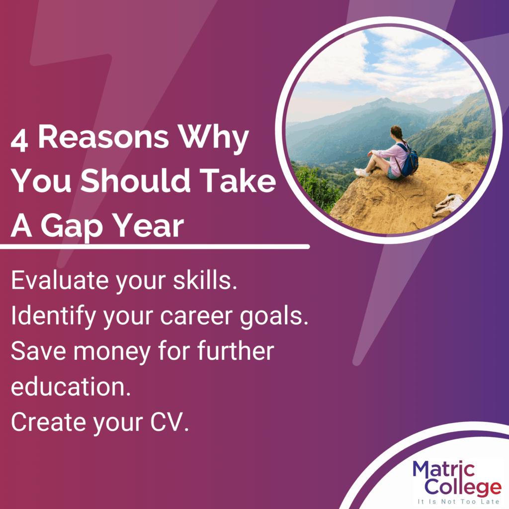 4 Reasons Why You Should Take A Gap Year