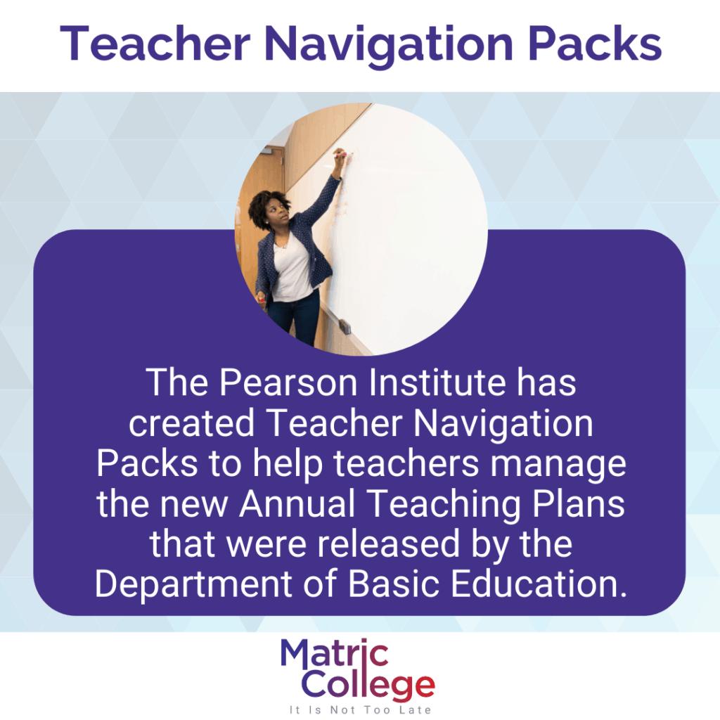 Teacher Navigation Packs