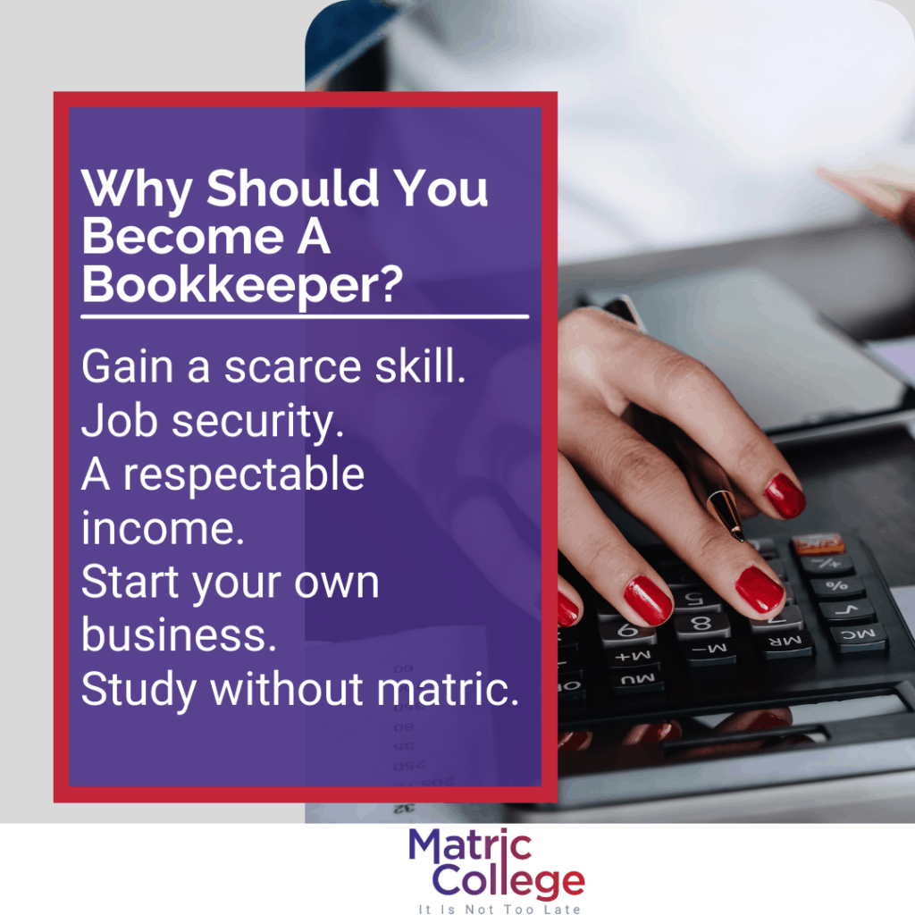 Why Should You Become A Bookkeeper?