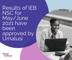 Results of IEB approved by Umalusi